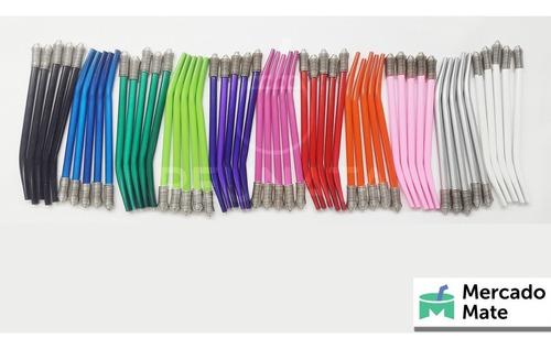 bombillas reunata color x 12  aluminio mercado mate blister