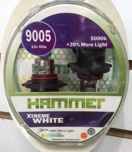 bombillo 9005 12v 60w xtreme white duo marca hammer