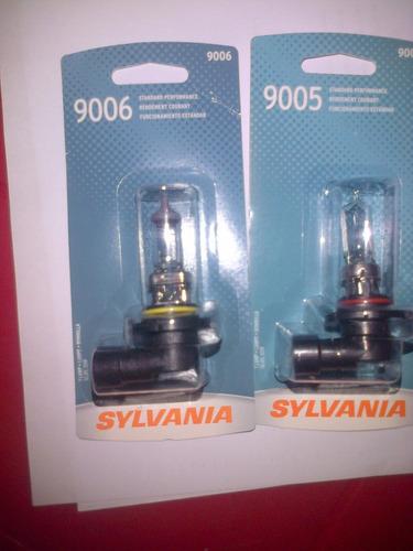 bombillo 9005 y 9006 sylvania osram