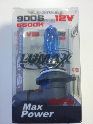 bombillo 9006 12volt 130 watts  lumax super xenon unidad