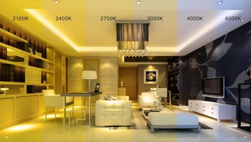 bombillo ahorrador led 7w 85/265v luz blanca/amarilla hammer