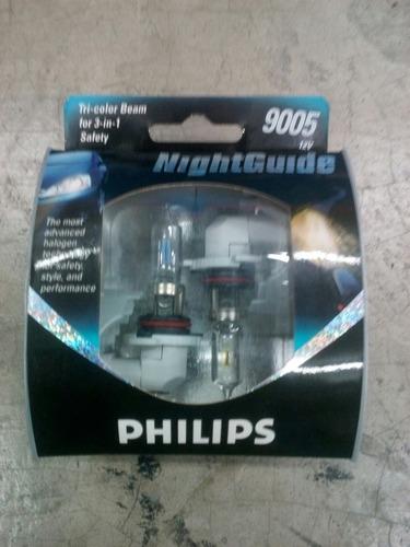 bombillo blister nightguide (xenon) philips