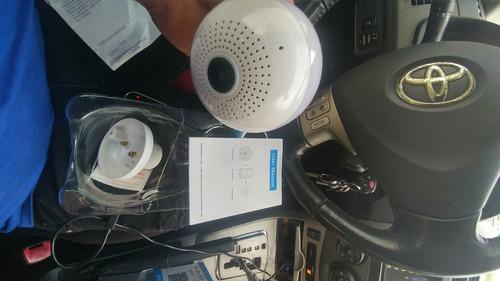bombillo camara con wifi graba audio