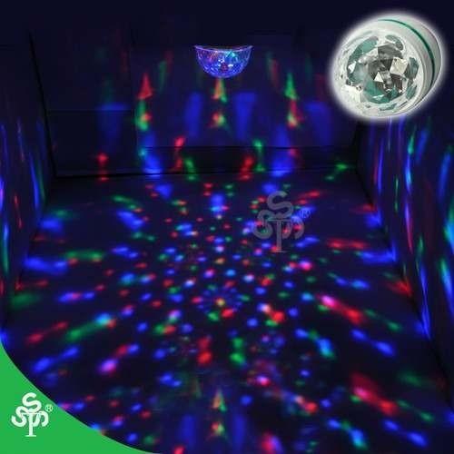 bombillo esfera luz led de colores rotativa - gangaaa!!!