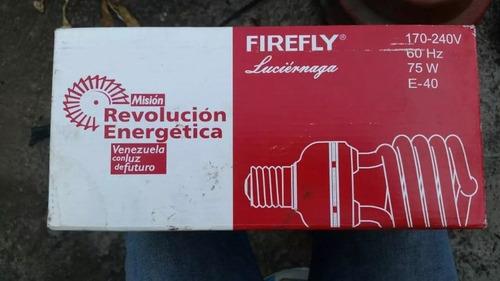 bombillo firefly. 175 240w. 60 hz. 75 w. e40. ahorrado