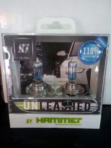 bombillo h7 110% más luz optra/ grand vitara/captiva