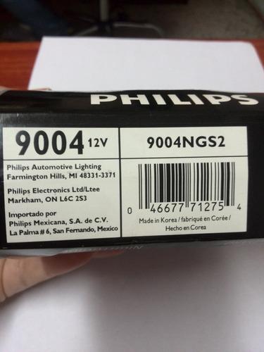 bombillo halogeno 9004 12v 60/55w philips (b360)