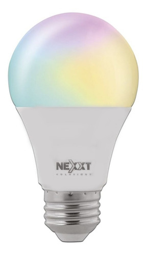bombillo inteligente nexxt smart wifi rgb programable google