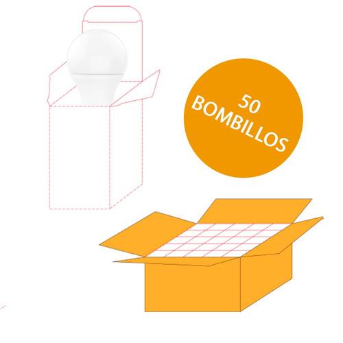 bombillo led ahorrador 7.5 w 600lm casa u oficina 10pz