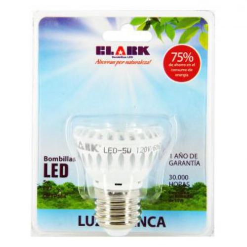 bombillo led clark 5w clark - luz blanca