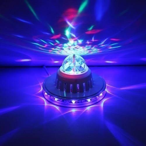 bombillo led giratorio discoteca, fiestas