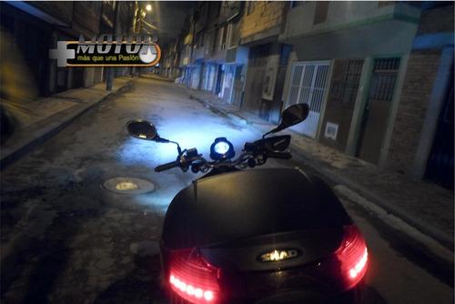 bombillo led moto carro  h4 4000 lúmens  luz blanca  hid