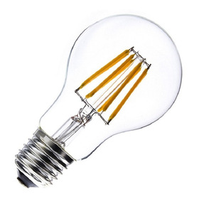 Bombillo Led Vintage Filamentos Tipo Edison Luz Calida 2700k