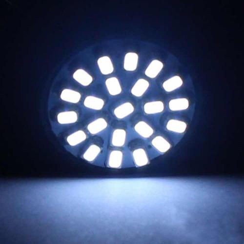bombillo luces muelita 22 led/smd luz retroceso techo placa