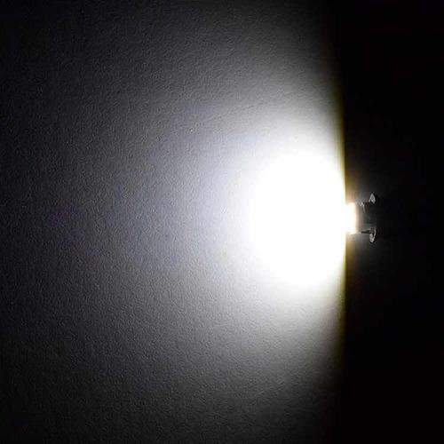 bombillo muelita luces 8 led/smd cocuyo techo  t10 (par)