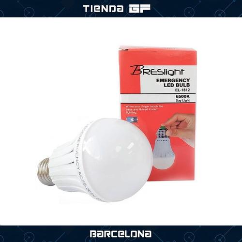 bombillo recargable led 9w breslight