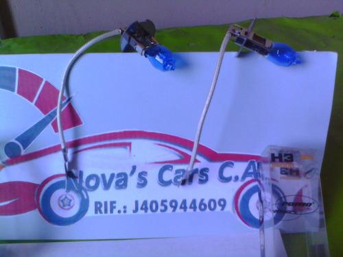 bombillos h3 12 voltios 130w