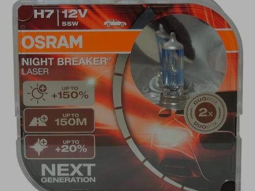 bombillos h7 marca osram originales serie night breaker