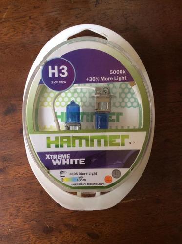 bombillos hammer h3 xtreme white