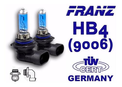bombillos hb4 - 9006 franz germany xenón blue 80w (par)
