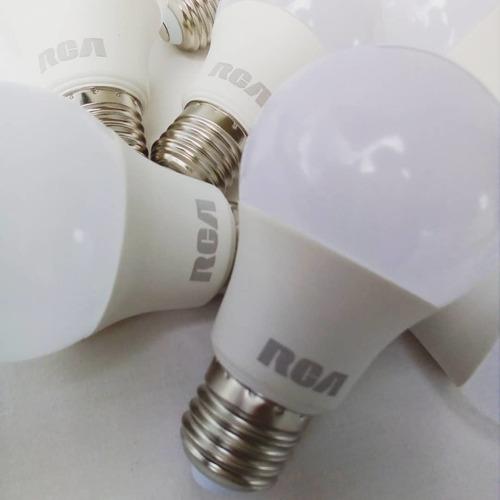 bombillos led marca rca iluminacion e27 5w 2700k y 6500k