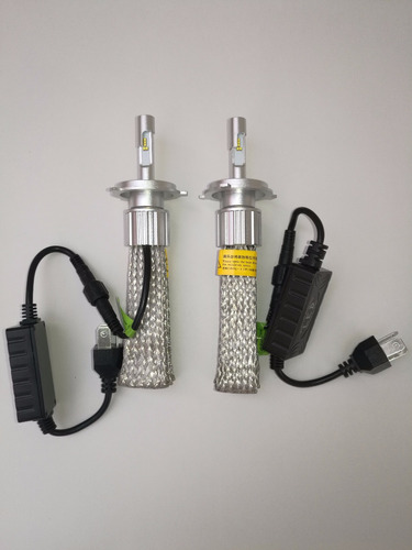 bombillos leds para auto h4  y h11,h7 doble color.