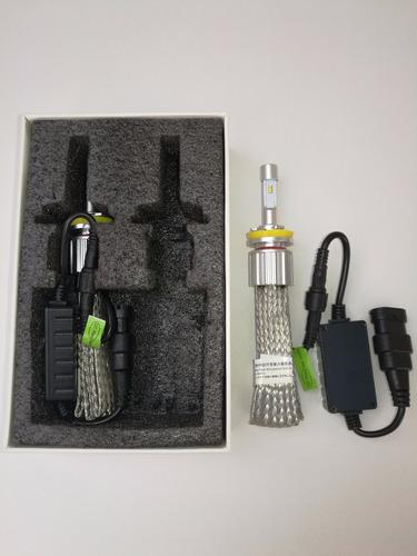 bombillos leds para auto h4  y h11,h7 doble color.