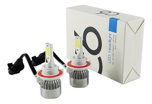 bombillos luces led c6 3800lm h1 h3 h7 h10 h11 9006 9005 880