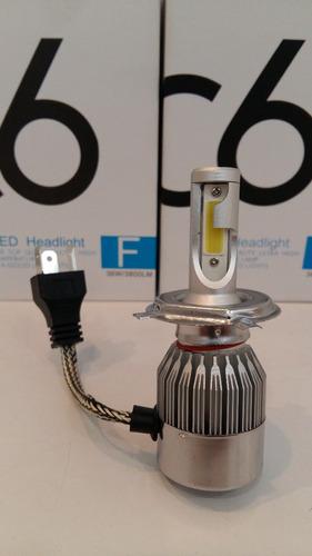 bombillos luces led cob h1 36w/3800lm h4 led csp