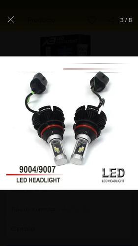 bombillos luces led marca x3 h4 y otros (18-09-2019)