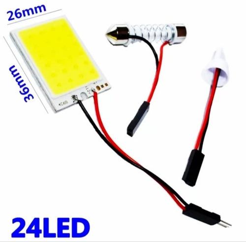 bombillos, luces  led para techo de vehículo (24 led)