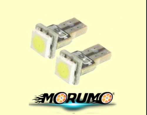 bombillos luces t05 t5 - minimuelita 01 led smd 5050 (par)