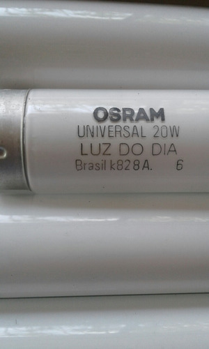 bombillos o tubos flourecentes  osram  20w  universales