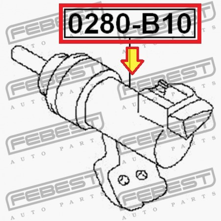 bombin inferior nissan sentra b15 0280-b10 30620-95f0a