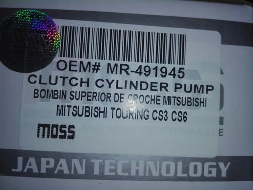 bombin superior de clutch mitsubishi touring o lancer