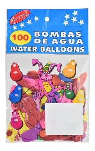 bombitas de agua x 100 - regalo regalado