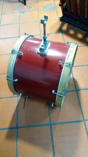bombo bateria mxp 22¨ + pedal pearl