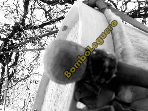 bombo leguero mediano grande 35-37x50 boca  santiago  estero