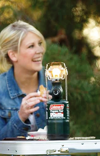bombona coleman recargable propano para lamparas y cocinas