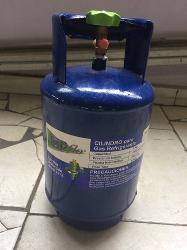 bombona gas 5 kg mo49 reemplazo r12 reusable topflo