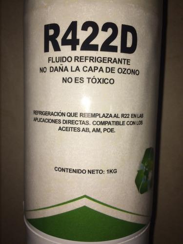 bombona gas refrigerante r422 sustituto r22 1kg