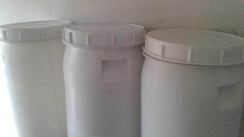 bombona plastica 45 litros com flange e torneira branca