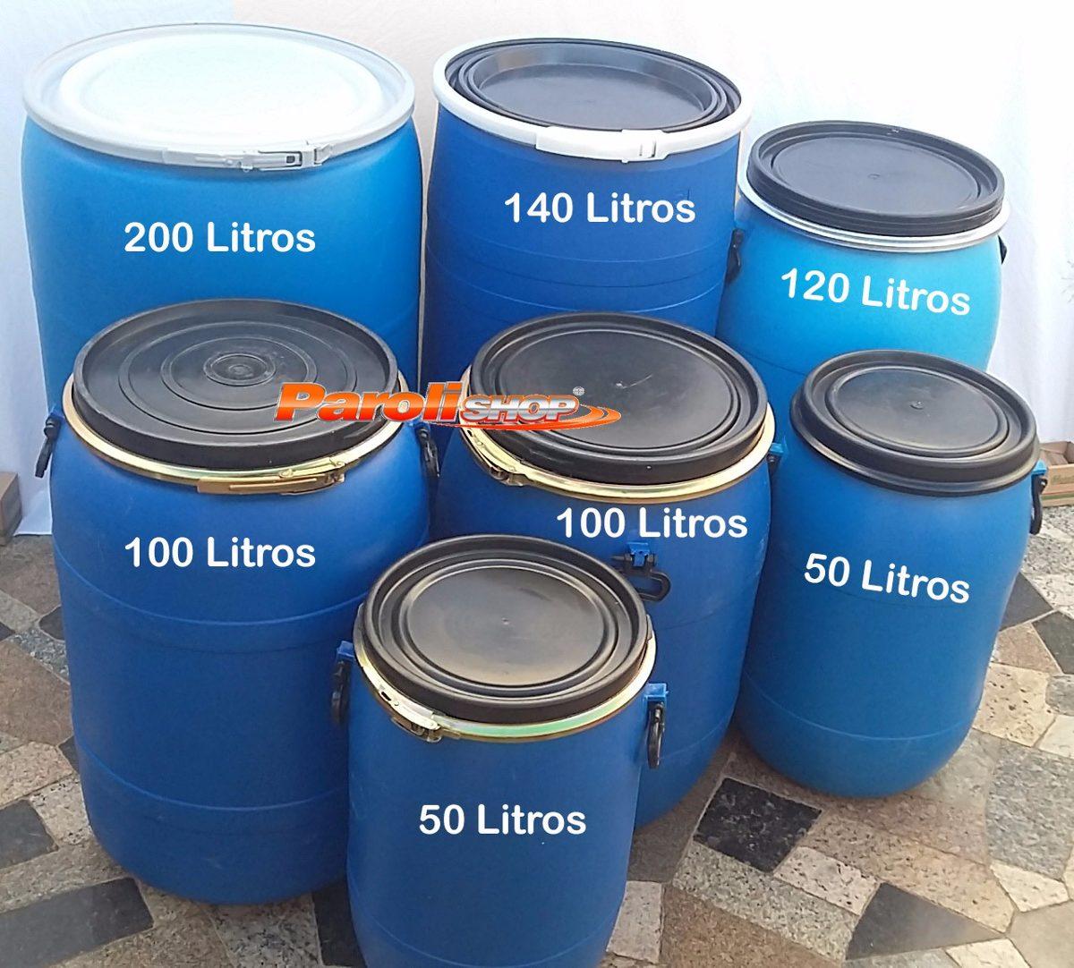 Bombona plastica tambor 200 litros lavadas e higienizadas for Tambores para agua