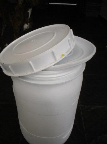 bombonas plásticas branca de 48 litros com tampa