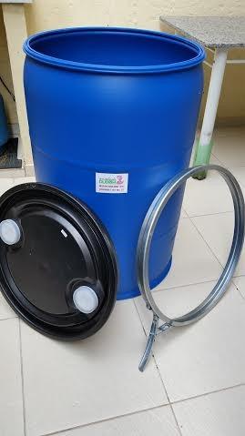 Bombonas tambores de 200l novos p gua pot vel entrego for Tambores para agua