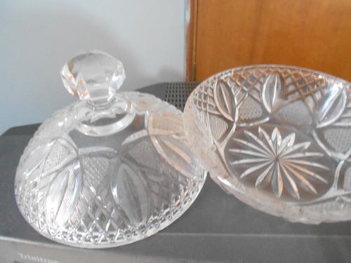 bombonera cristal de bohemia
