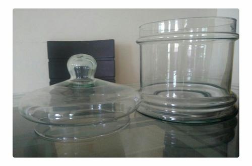 bombonera de cristal reforzado 30 centímetros