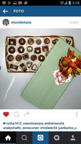 bombones de chocolate - chocomensajes