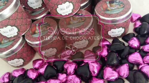 bombones de chocolate exclusivos ¡ buhos carteras coronitas!