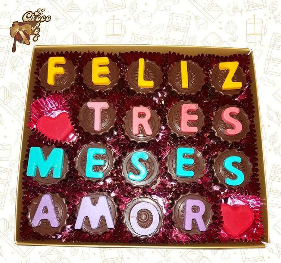 Bombones de chocolate regalo para mi novia s 50 00 en - Detalles para sorprender tu novia ...